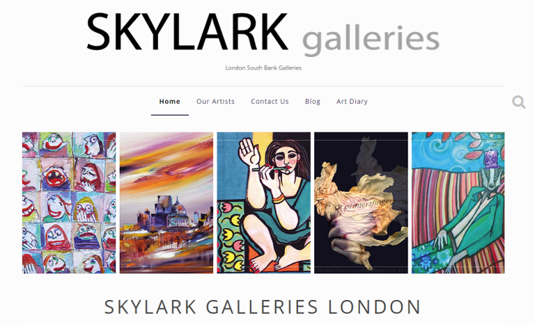 Skylark Galleries   London South Bank Galleries